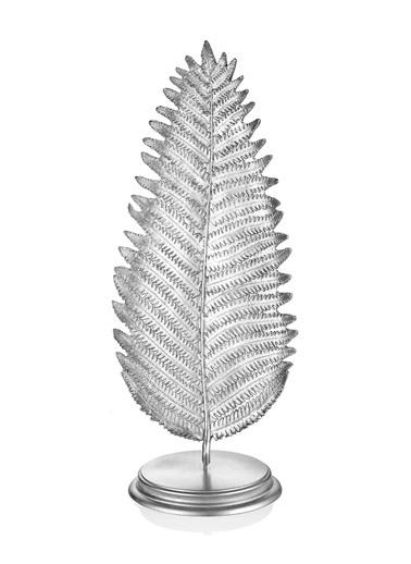 The Mia Yaprak Büyük (Standlı) Gümüş Gümüş
